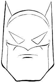 Resultado de imagen para mascaras de superheroes para colorear