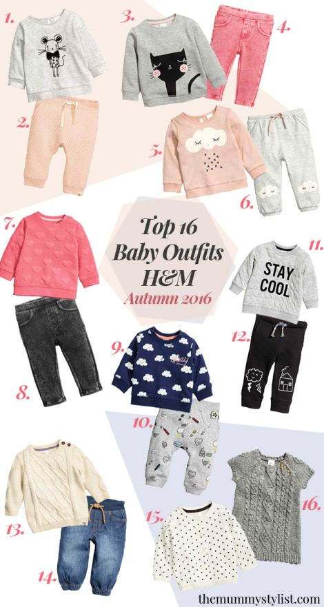 Top 10 Baby Outfits from H&M - Autumn 2016