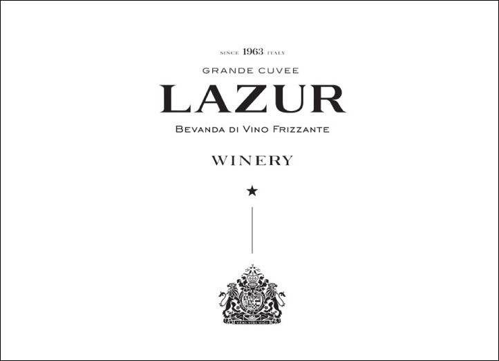Игристое вино Lazur / Брендинг & Упаковка от Рейнольдса и Рейнера