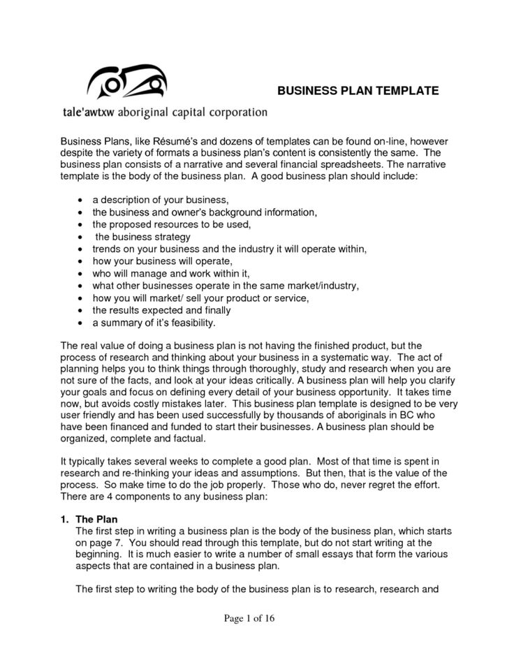 free business plan template samples and templates examples docs