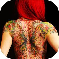 Virtual Tattoo Maker FREE - Photo Designer to add artist tattoos & fonts on yr body by Chao Zhang