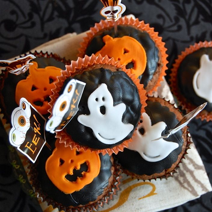 185 Best Halloween Cupcakes Amp Muffins Images On Pinterest