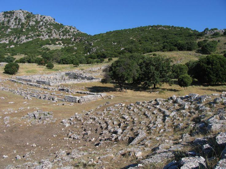 Αρχαίο Θέατρο Κασσώπης μικρό (Βουλευτήριο) - Ancient Cassope Small Theatre (Vouleutirio)