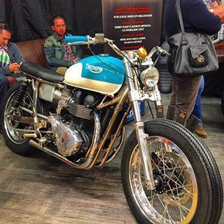Salon de la Moto 2015 Côté Café Racer