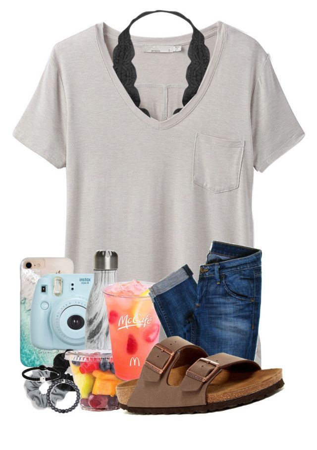"""Should I start doing OOTD?"" by meinersk45195 ❤ liked on Polyvore featuring prAna, Humble Chic, Gray Malin, Fujifilm, S'well, Natasha, Miss Selfridge, Lokai, Hudson Jeans and Birkenstock"