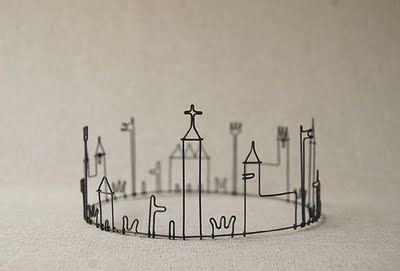 Neat bracelet idea would be to make these in the shape of city skylines...somebody get on it!