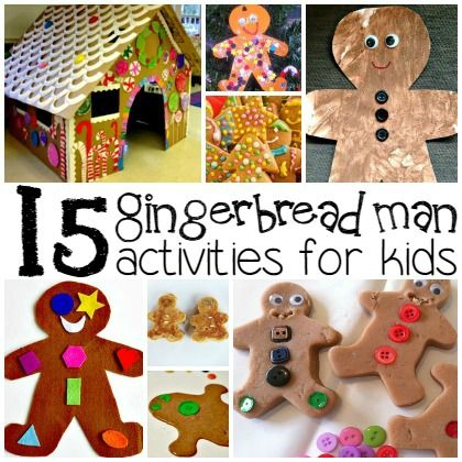15 Gingerbread Man Activities for Kids - Play Ideas