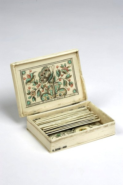 Gaming counters, counters for the game of reversino - a French board game early 18thC. No known rules exist.