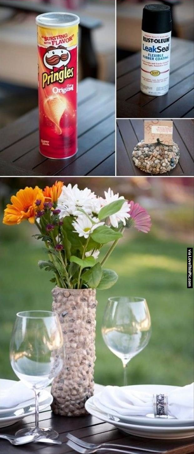 How To Turn A Pringles Can Into A Vase Pictures, Photos, and Images for Facebook, Tumblr, Pinterest, and Twitter