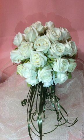 Создаем закрытые розы из фоамирана для свадебного букета - Ярмарка Мастеров - ручная работа, handmade