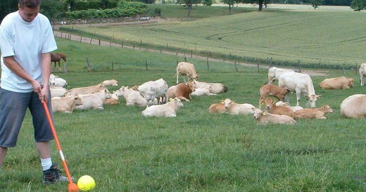 Boerengolfbaan de Vrouwenheide in Ubachsberg (Zuid-Limburg)