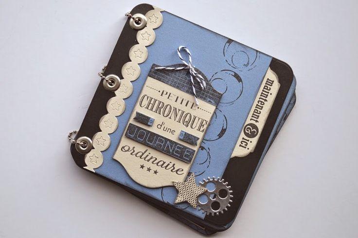 Alexandra pour Scrap à la Carte: Mini-album Petite Chronique