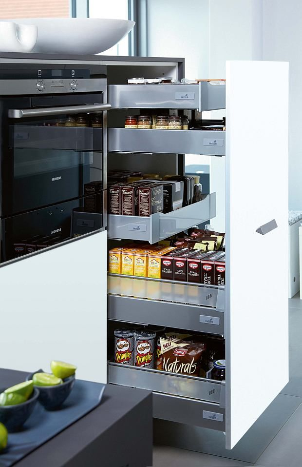 producenci oferują gotowe półki o różnej wysokości.