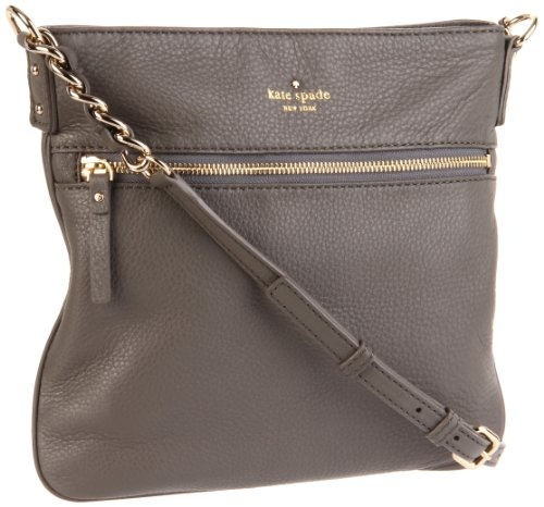 $225.00-$225.00 kate spade new york in Storm. kate spade new york Cobble Hill Ellen - Storm Material: Leather. kate spade,Leather Handbags,Shoulder Bags,Handbag Trends,Designer Handbags,Leather,Crossbody Bags,Designer Trends,Cross-Body Bags,Contemporary Cross-bodys,Cross-Body Bags,Top Zip Shoulder Bags,Crossbody's,Cross Body Bags,Top Zip Shoulder Bag