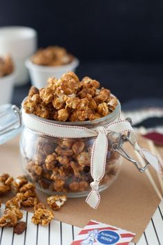 Sweet and spicy curry cracker jack - Snixy Kitchen