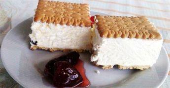 Πανεύκολο παγωτό σάντουιτς με Πτι Μπερ, έτοιμο σε 15 λεπτά!
