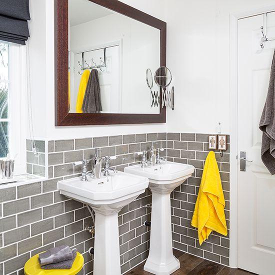 Bright Yellow Bathroom Colors: Best 25+ Grey Yellow Bathrooms Ideas On Pinterest