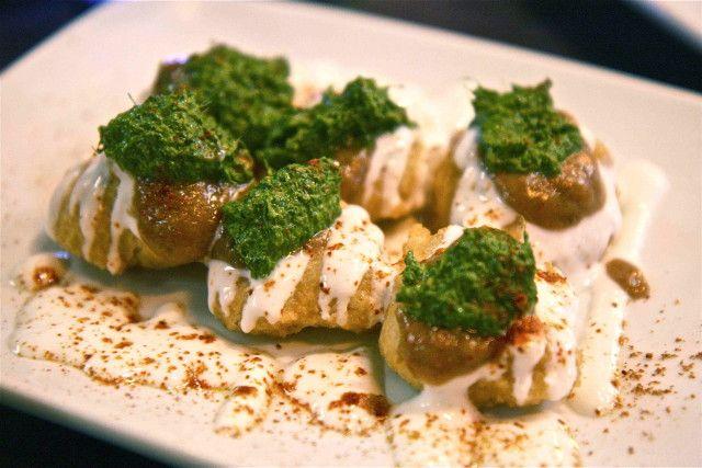 Fish fillet with creamy pesto sauce