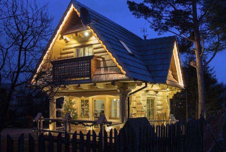 Regionalny, drewniany domek w Zakopanem. Willa Pod Reglami - http://www.podreglami.pl/