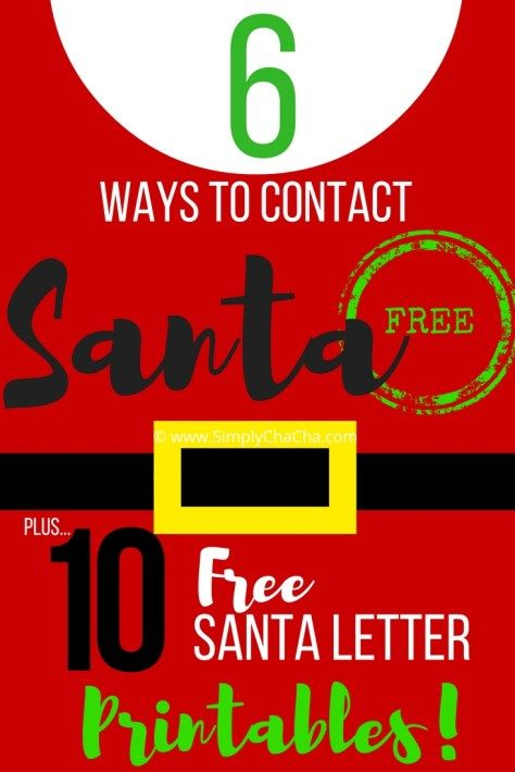 6 ways to contact Santa call-santa-2
