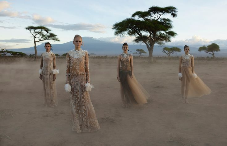 cameron, kirin, tami, alice and greta by steve mccurry for valentino spring / summer 2016 | visual optimism