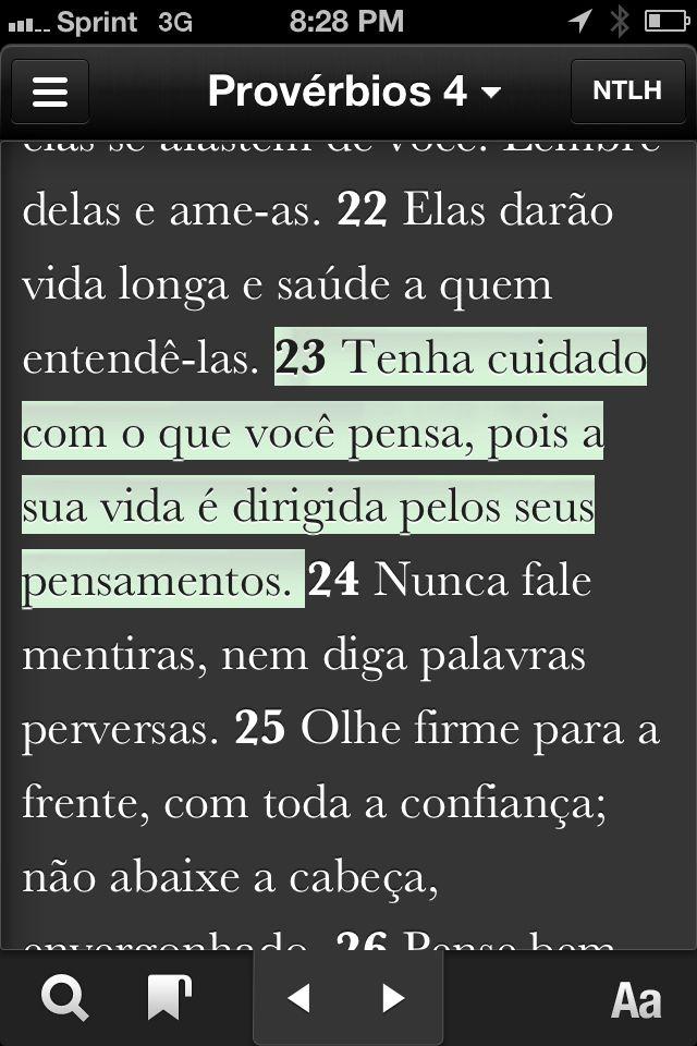 Provérbios 4.23