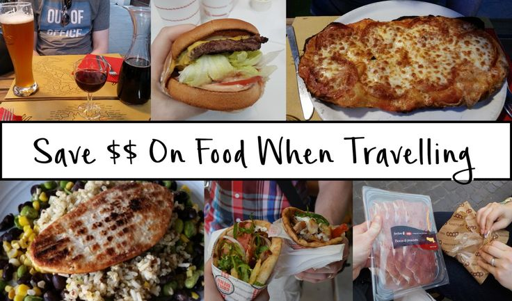 My Top 5 Tips to Save Money on Food When Travelling