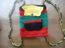 crochet backpack $18.00