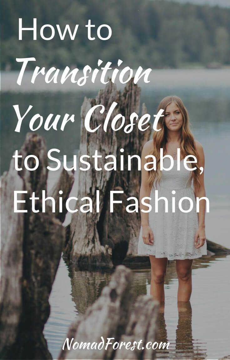 How to transition to sustainable fashion