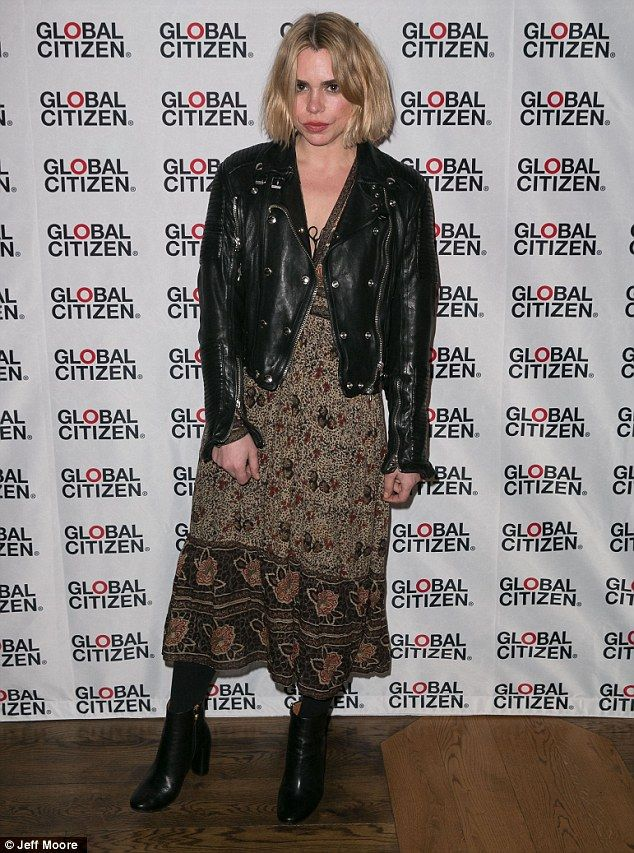 Billie Piper and husband Laurence Fox attend Global