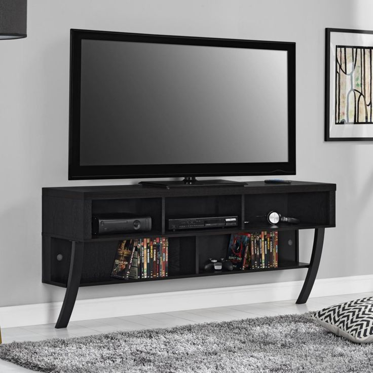 Altra Furniture Asher Wall Mounted 65 in. TV Stand - 1757096PCOM