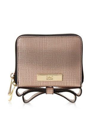 57% OFF Zac Zac Posen Women's Milla Zip Around Indexer Clutch/Wallet, Blush