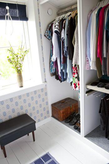 Hildas hem: Om att bygga sig en klädkammare