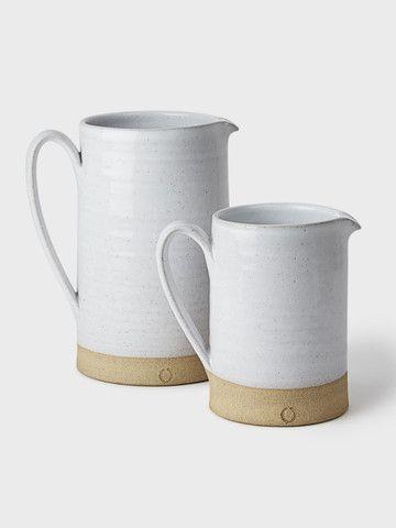 Silo Stoneware Pitcher by Farmhouse Pottery | DARA Artisans
