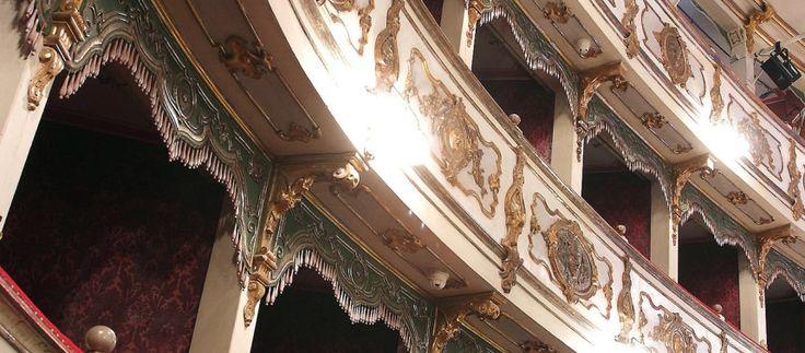 Teatro Verdi in Busetto (Parma, Italy)