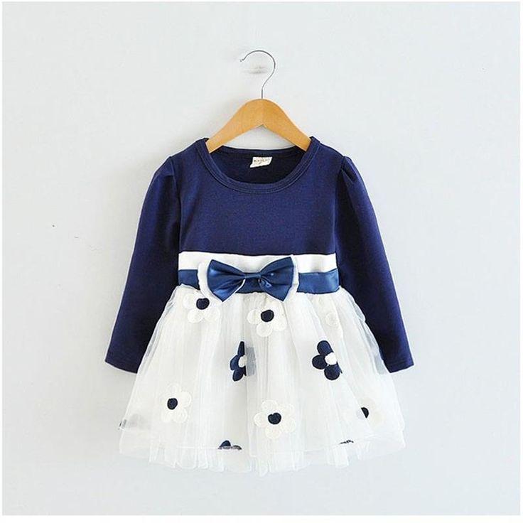 Nice Kids Dresses for Girls 2017 Summer Cotton Flower Baby Dress Clothes 1 year Newborn Girl Clothing vestido infantil de bebes fille - $14.61 - Buy it Now!