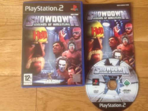 The legends of #wrestling showdown #(playstation 2) vgc.feat hulk #hogan,  View more on the LINK: http://www.zeppy.io/product/gb/2/201751864695/