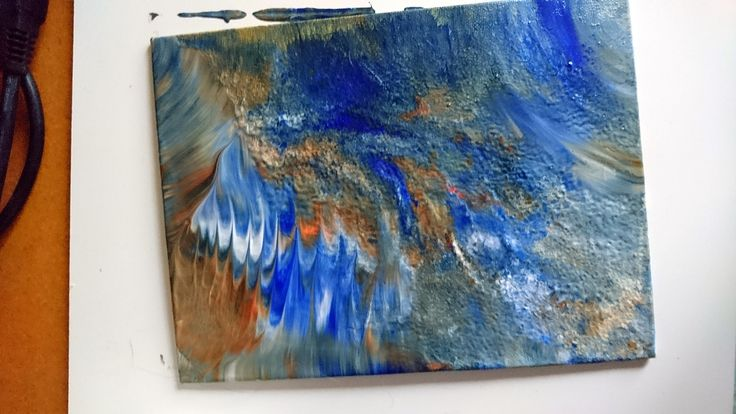 Fun and Play: Experimenting With Acrylics