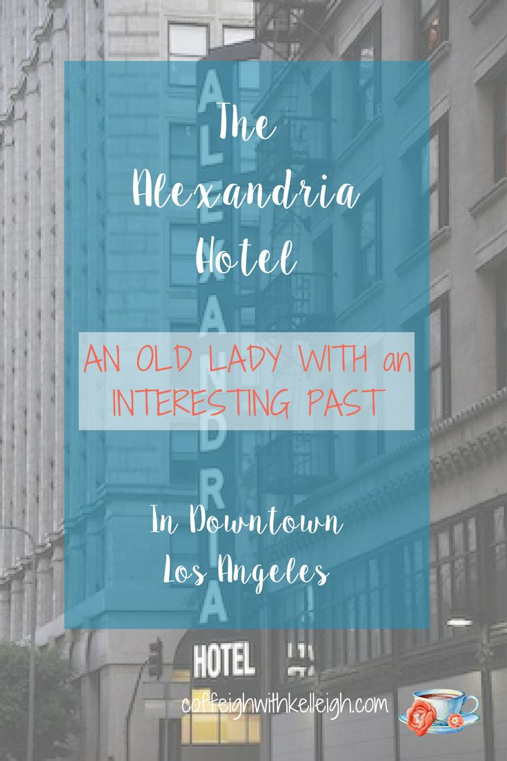 The Alexandria Hotel in downtown Los Angeles.  Former home of Rudolph Valentino who offered dance lessons at the Palm Court ballroom.  They say he still haunts the Hotel, and have you read about the Phantom Wing ...
