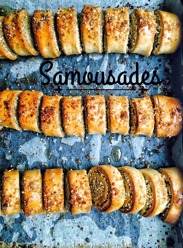 Samousades - Cretan Xmas Cookies  #nikosuvrohlik