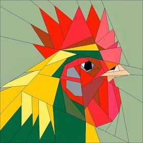 Quilt Art Designs: New Farm Animal Patterns