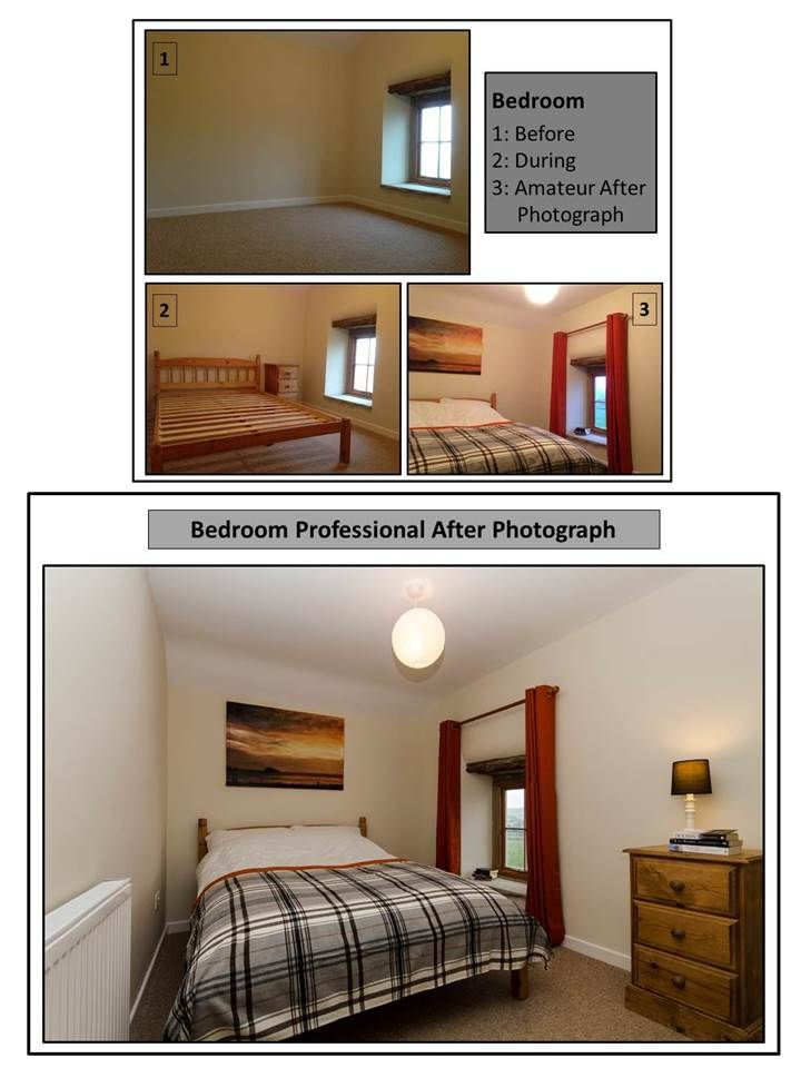 Sold inside 3 weeks for full asking price! Empty bedroom furnished and styled. Peak District Cottage | Anna Hart Property Consultancy