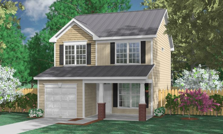 House Plan 1638A The BARSTOW A House plans in 2019