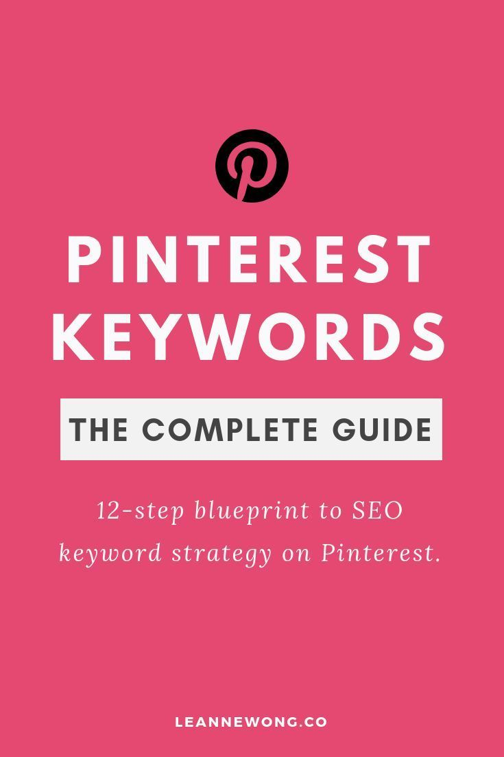 Keyword Strategy For Pinterest Seo The Definitive Guide 2020