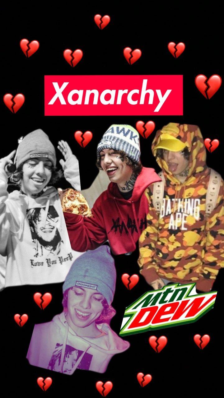 Lil Xan Wallpaper Made By Scarlett Lil Wallpaper Poster
