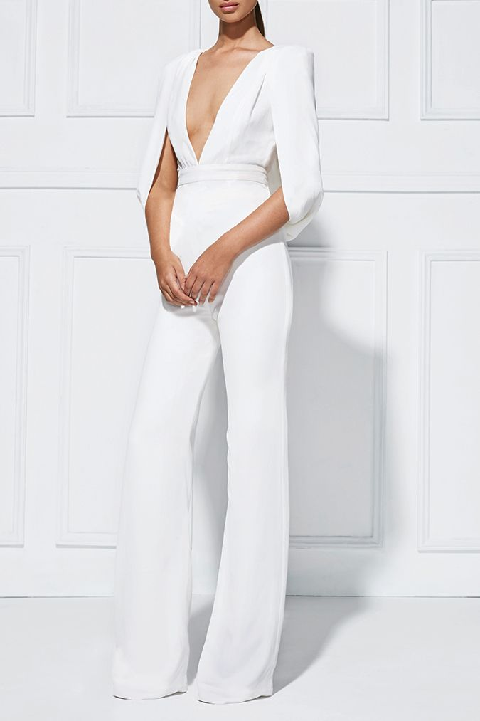 Olympia Pantsuit Pantsuits Great Jumpsuit White Lace Jumpsuitwhite Pantsuitwedding