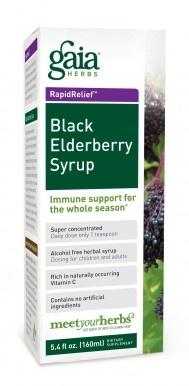 Black Elderberry Syrup: Immune support for the whole season. #immunity #naturalhealth #coldandflu
