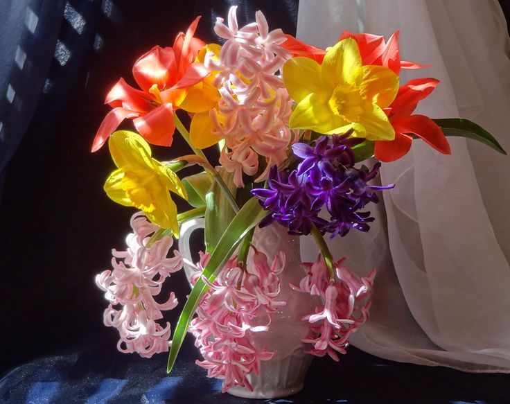 Пазл Весенний букет — собрать пазл онлайн
