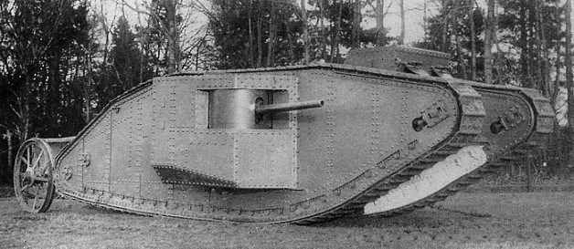 Precies honderd jaar geleden veranderde dit monster de moderne oorlogsvoering