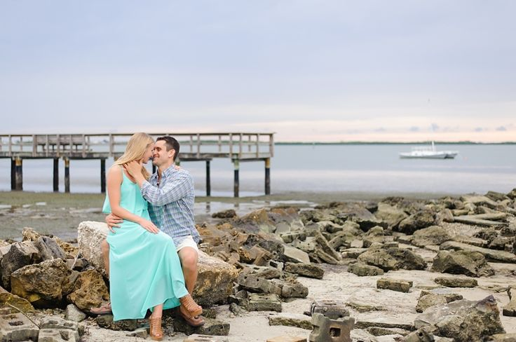 A downtown Dunedin, Florida engagement session that wrapped up during the gorgeous Florida sunset. Check out more at www.sarahben.com